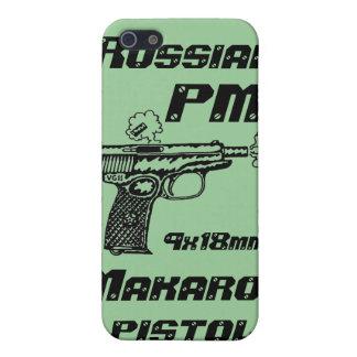 Makarov pistol shooting garaphic art i phone case cases for iPhone 5