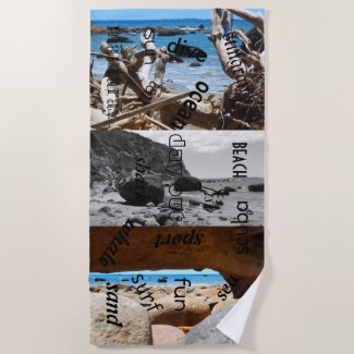 makatu beach beauty new zealand beach towel