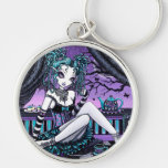 """""""Makayla"""" Gothic Couture Fairy Keychain"""