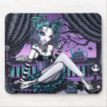 Makayla Gothic Couture Fairy Tea Party Mouse Pad
