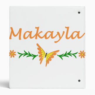 Makayla (mariposa anaranjada)
