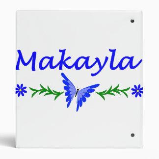 Makayla (mariposa azul)