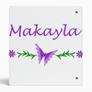 Makayla (mariposa púrpura)