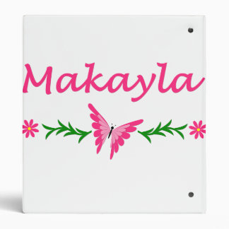 Makayla (mariposa rosada)