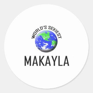 Makayla más atractivo del mundo etiqueta