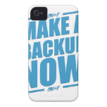 Make a backup now! iPhone 4 cover