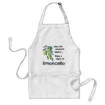 Make a Batch of Limoncello Adult Apron
