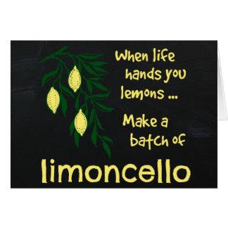 Make a Batch of Limoncello Card