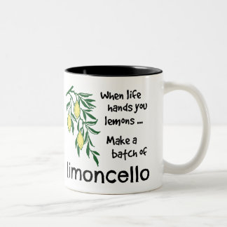 Make a Batch of Limoncello Two-Tone Coffee Mug
