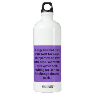 Make a Change Aluminum Water Bottle