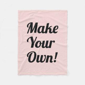 Make a Custom Printed Fleece Blanket