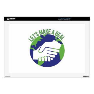 Make A Deal Laptop Skins
