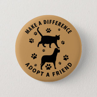 Make A Difference Adopt A Friend Button