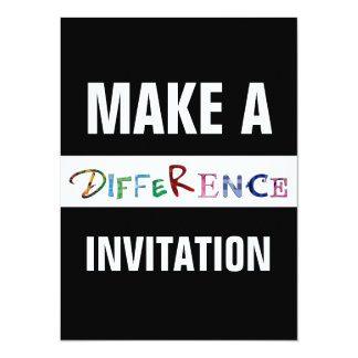 Make a Difference Motivational Quote Card