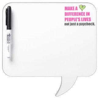 Make A Difference Plexus Worldwide Dry Erase Board