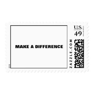 """Make a difference"" Postage"