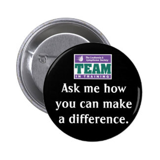 Make A Difference Team in Training Pin