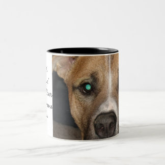 Make A Difference Two-Tone Coffee Mug