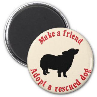 Make A Friend - Pembroke Welsh Corgi Magnet