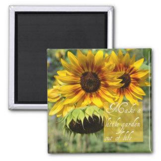 Make A Garden Sunflowers Magnet
