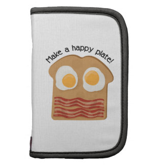 Make A Happy Plate! Folio Planners