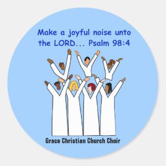 Make A Joyful Noise Christian Stickers