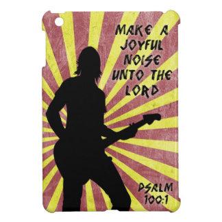 Make a Joyful Noise - Guitar - Psalm 100 1 Bible iPad Mini Cases
