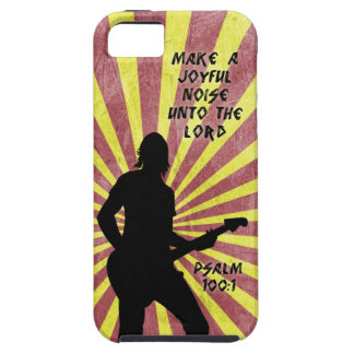 Make a Joyful Noise - Guitar - Psalm 100:1 Bible iPhone SE/5/5s Case