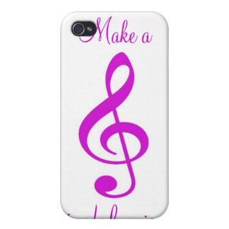 Make a Joyful Noise iPhone 4 case
