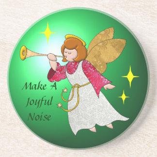 Make A Joyful Noise Sandstone Coaster