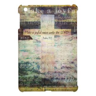 Make a joyful noise unto the LORD - Bible Verse Cover For The iPad Mini