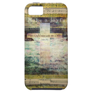 Make a joyful noise unto the LORD - Bible Verse iPhone SE/5/5s Case