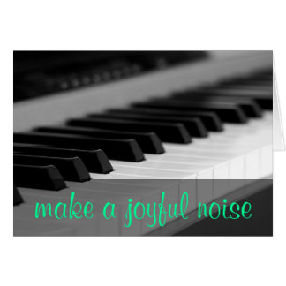 Make a joyful noise unto the Lord Psalm 98:4 Cards