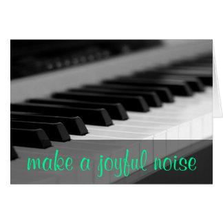 Make a joyful noise unto the Lord Psalm 98:4 Card