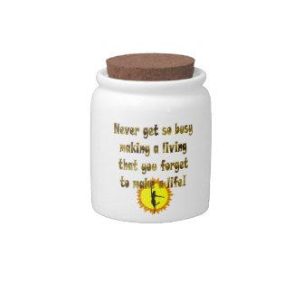 Make a Life Candy Jar