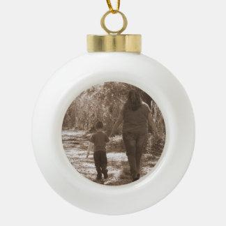 Make A Memory Ceramic Ball Christmas Ornament