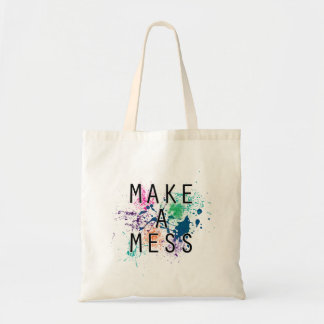 Make a Mess Tote Bag
