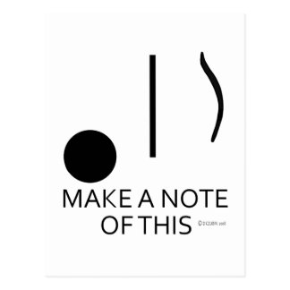 Make A Note of This Postcard