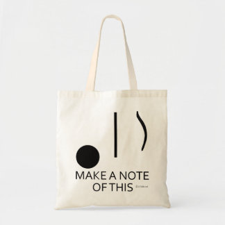 Make A Note of This Tote Bag