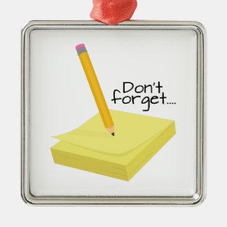 Make A Note Ornament