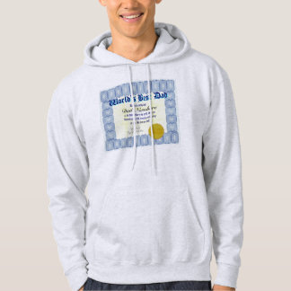 Make a personal World's Best Dad Hoodie