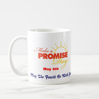 Make A Promise Day Mug