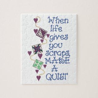 Make A Quilt Puzzle