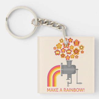 Make a rainbow! keychain