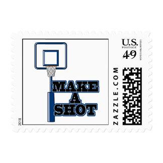 make a shot basetball net stamp