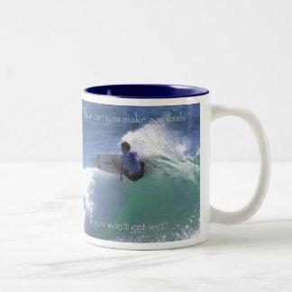 Make a splash  by TDGallery Mug