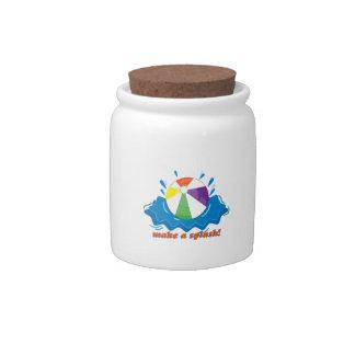 Make A Splash! Candy Jar