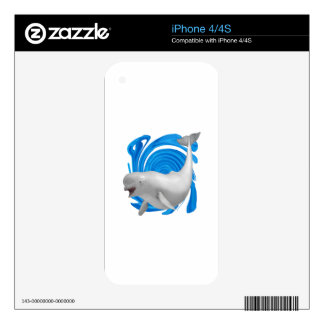MAKE A SPLASH DECALS FOR iPhone 4