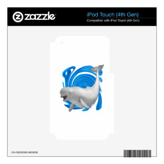 MAKE A SPLASH DECALS FOR iPod TOUCH 4G