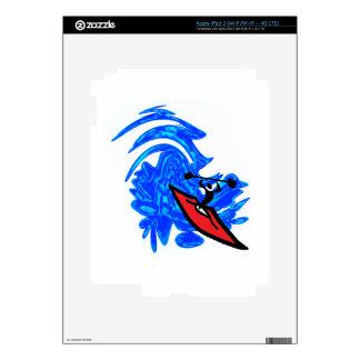 MAKE A SPLASH iPad 3 SKINS